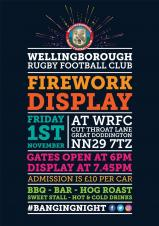Firework Display at WRFC 1st November